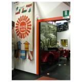 Impianto Antintrusione interno – Sensore volumetrico presso Museo della Mille Miglia